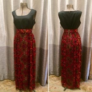 Dresses & Skirts - Vintage Psychedelic Gown